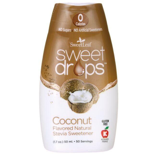 Wisdom NaturalSweetLeaf Sweet Drops Liquid Stevia - Coconut