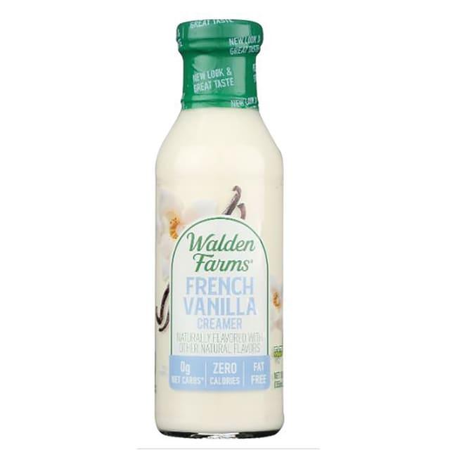 Walden Farms Calorie Free French Vanilla Coffee Creamer 12