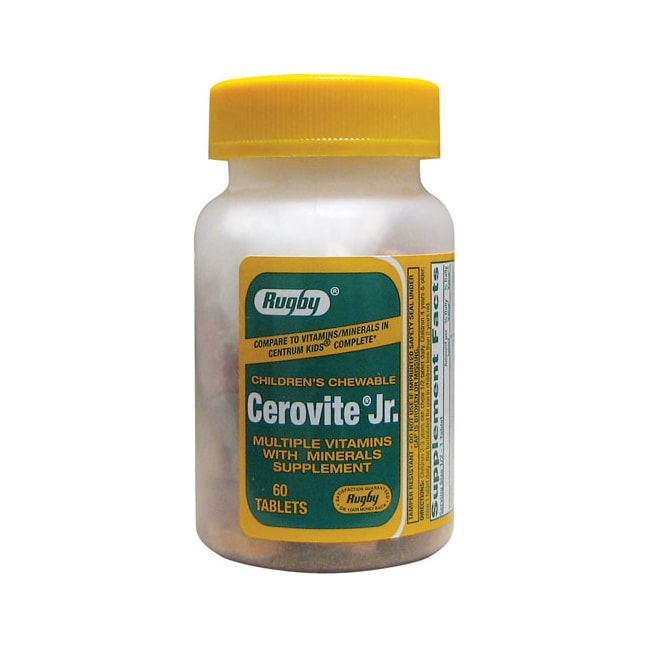 RugbyCerovite Jr. Children's Chewable