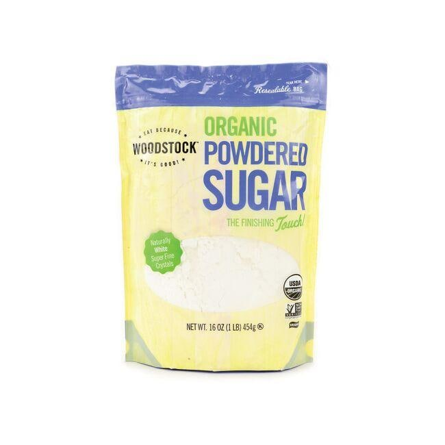 Woodstock Foods Organic Powdered Sugar