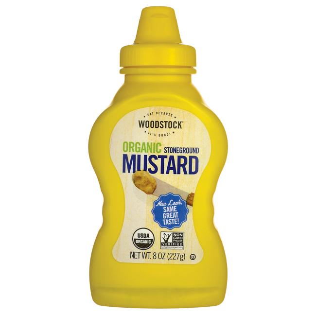 Woodstock FoodsOrganic Stoneground Mustard