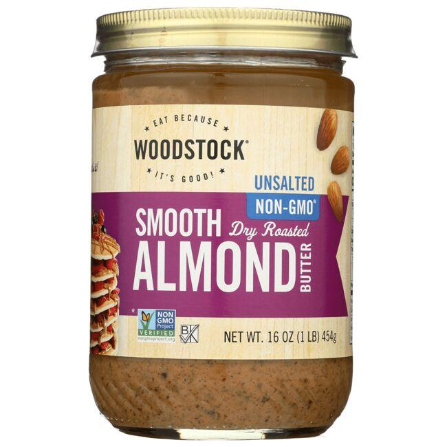 Woodstock FoodsSmooth Almond Butter Unsalted