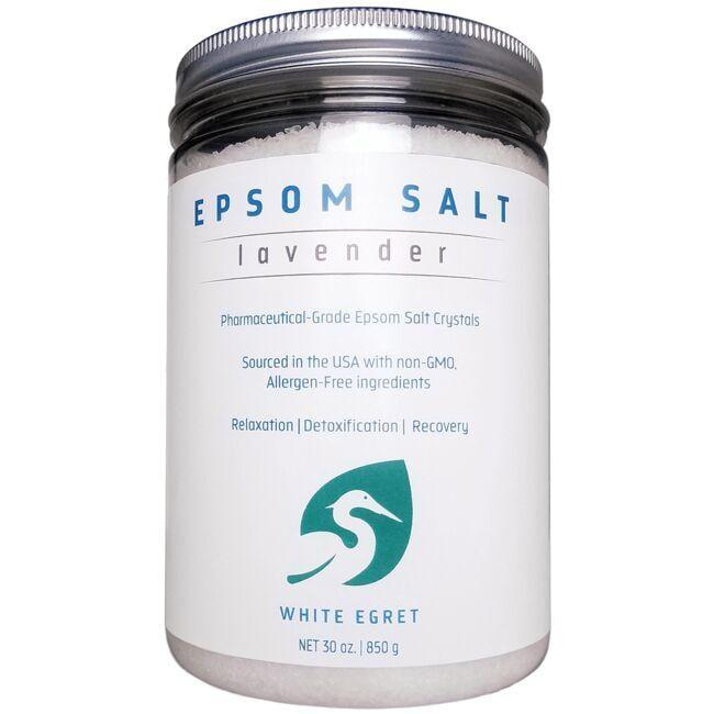 White EgretEpsom Salt - Lavendar