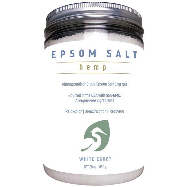 White EgretHemp Epsom Salt