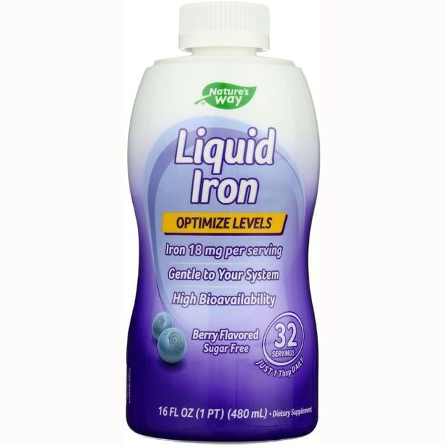 Nature's Way Liquid Iron - Berry Flavored