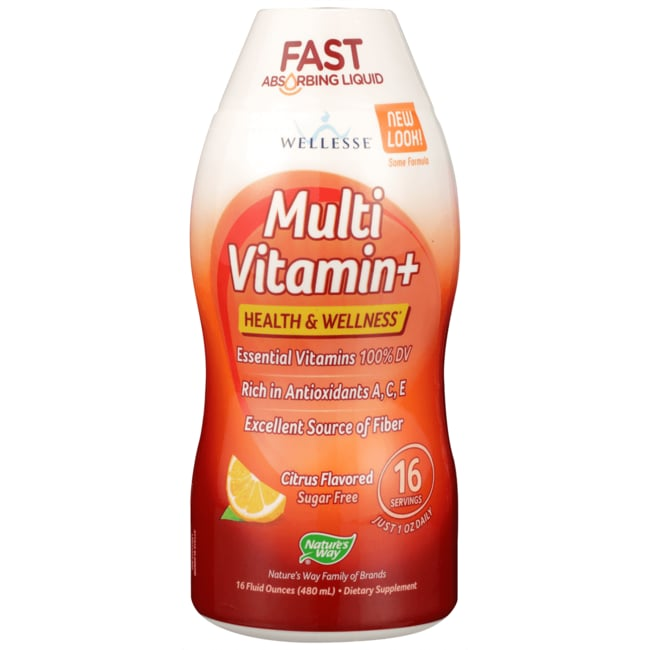 WellesseMulti Vitamin+ - Tangy New Citrus Flavor