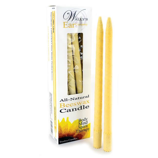 Wally's Natural Products EarCandles Beeswax - Unscented