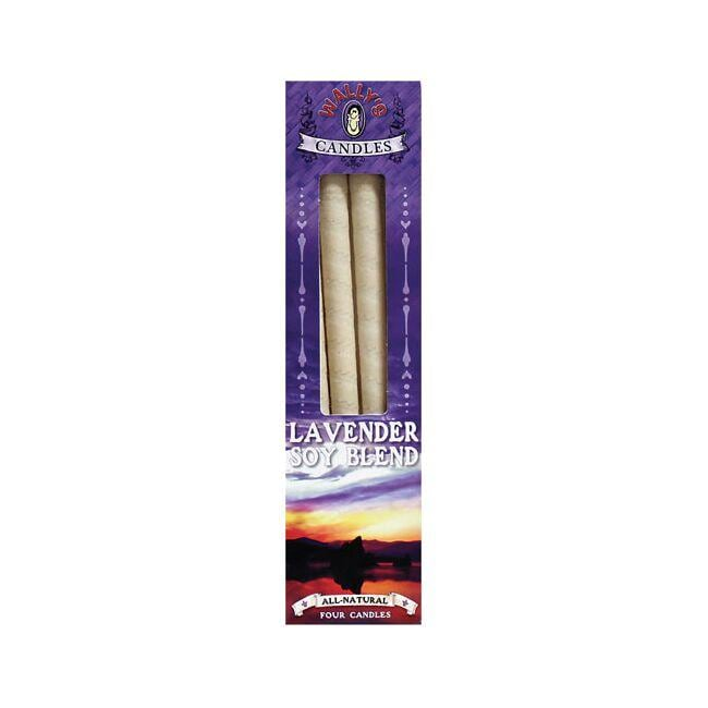 Wally's Natural Products EarCandles Soy Blend - Lavender