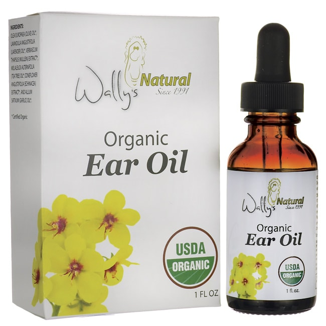Wally's Natural ProductsOrganic Ear Oil