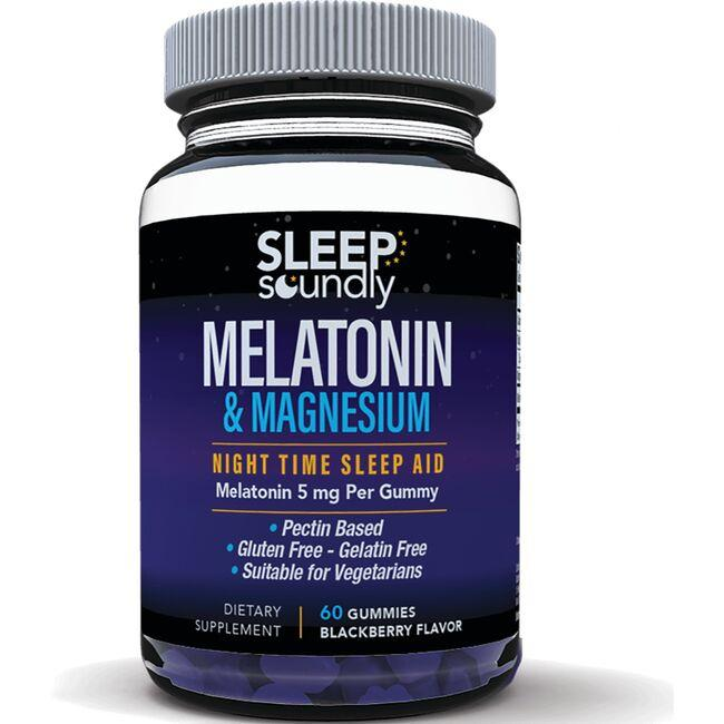Windmill Health Products Melatonin & Magnesium Gummy - Blackberry