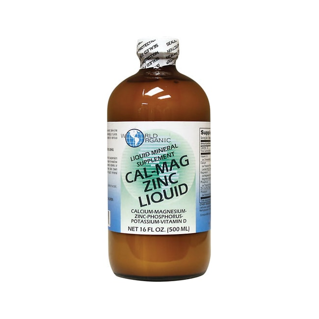 World OrganicCal-Mag Zinc Liquid