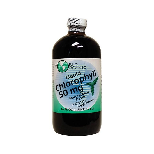 World OrganicChlorophyll Liquid