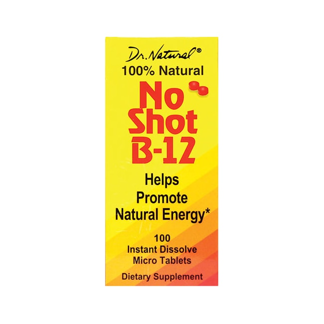 World OrganicNo Shot B-12