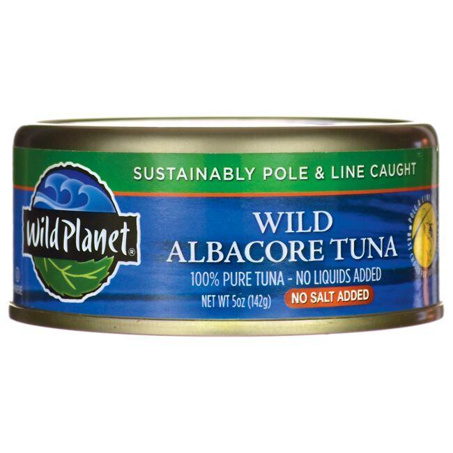 Wild PlanetWild Albacore Tuna - No Salt Added