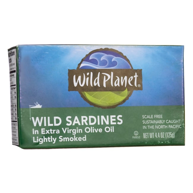 Wild PlanetWild Sardines in Extra Virgin Olive Oil - Lightly Smoked