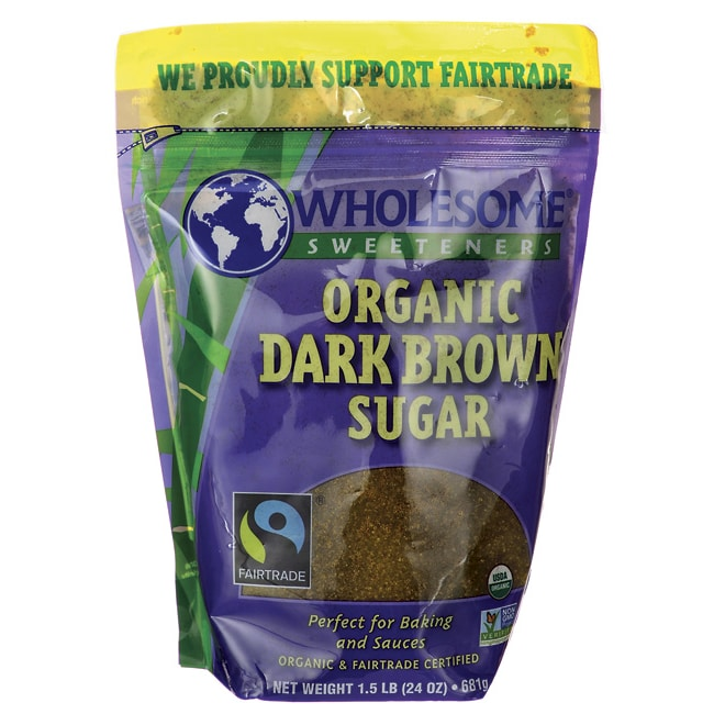 Wholesome SweetenersOrganic Dark Brown Sugar