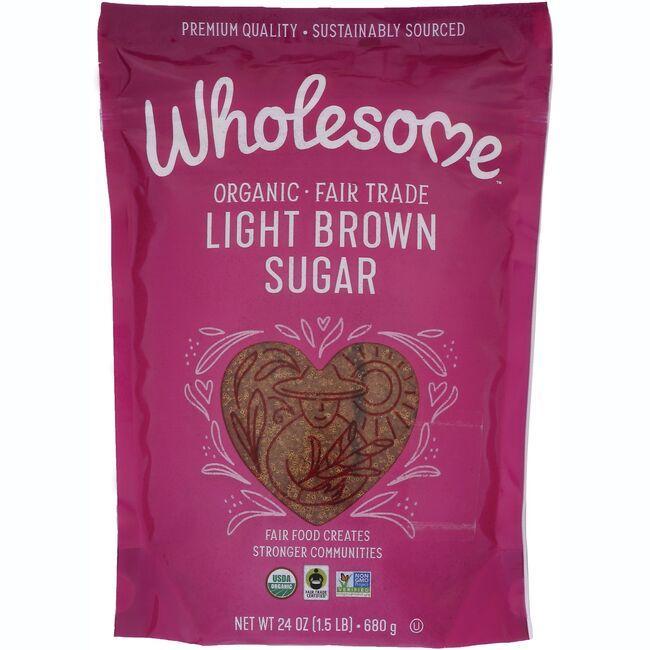Wholesome SweetenersOrganic Light Brown Sugar
