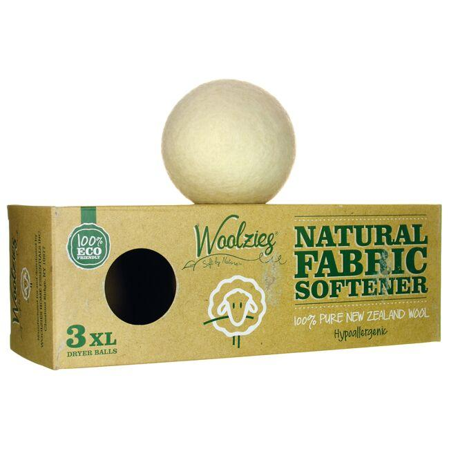 Woolzies Natural Fabric Softener - Wool Dryer Balls