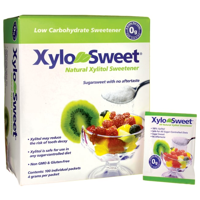 Xlear XyloSweet - Natural Xylitol Packets