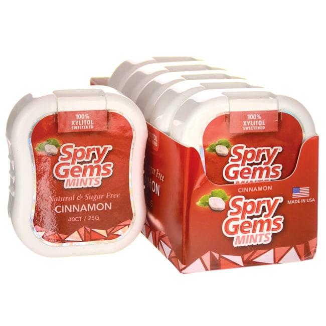 XlearSpry Gems Mints Cinnamon - Sugar Free
