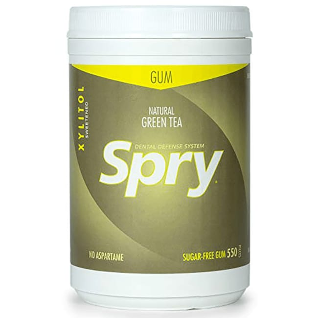 XlearSpry Green Tea Chewing Gum