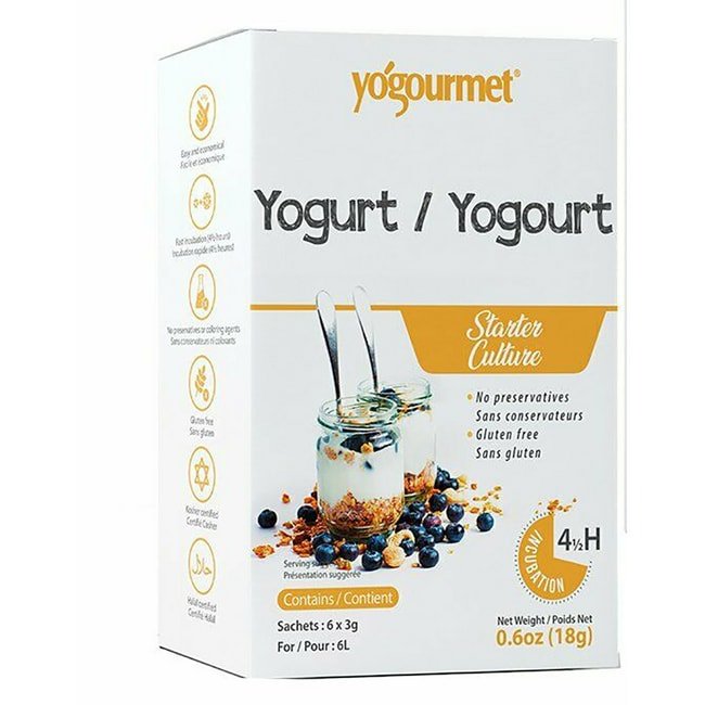 YogourmetFreeze-Dried Yogurt Starter