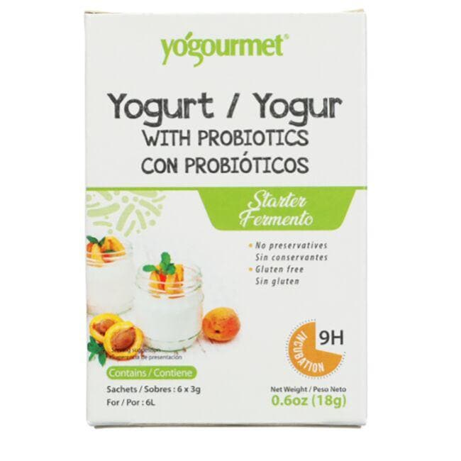 Yogourmet Probiotic Yogurt Freeze-Dried Starter