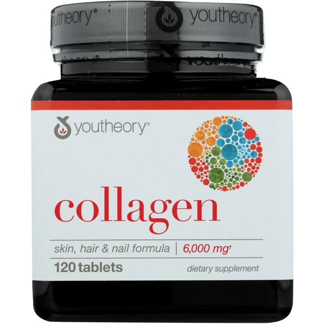Anti Envejecimiento Youtheory colágeno tipo 1 y 3 120 las pestañas Productos para tu Salud en Veo y Compro  + Colágeno en Veo y Compro
