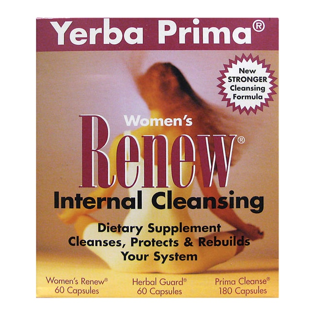 Yerba PrimaWomen's Renew Internal Cleansing