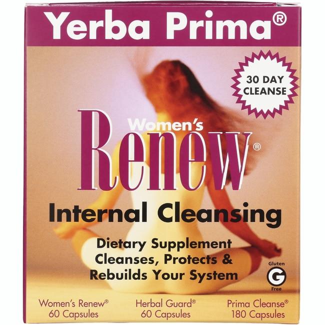 Yerba Prima Women's Renew Internal Cleansing