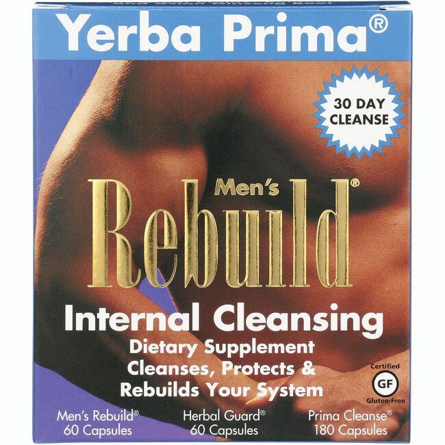 Yerba PrimaMen's Rebuild Internal Cleansing