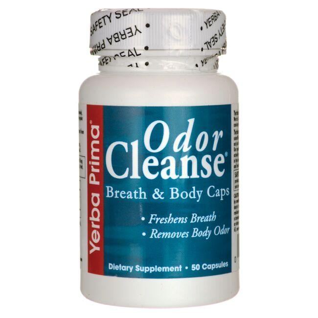 Yerba Prima Odor Cleanse Breath & Body Caps