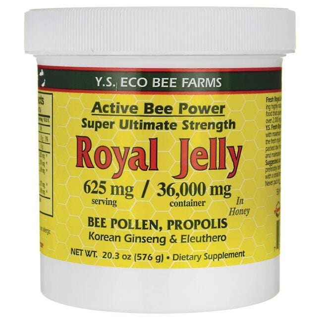 Y.S. Eco Bee Farms Active Bee Power Royal Jelly In Honey