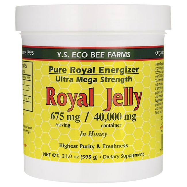 Y.S. Eco Bee FarmPure Royal Energizer Royal Jelly In Honey