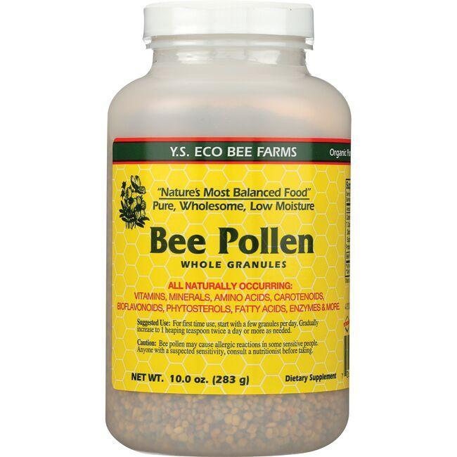 Y.S. Eco Bee FarmsLow Moisture Bee Pollen Whole Granules