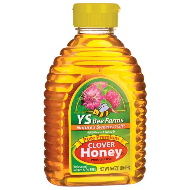 Y.S. Eco Bee Farm Pure Premium Clover Honey