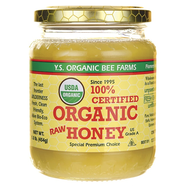 Y.S. Eco Bee Farm 100% Certified Organic Raw Honey