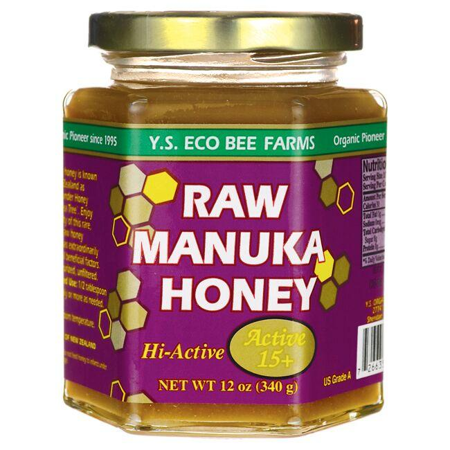 Y.S. Eco Bee FarmsRaw Manuka Honey Hi-Active 15+