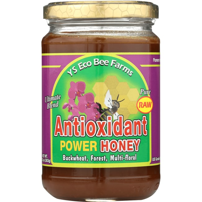 Y.S. Eco Bee FarmsRaw Antioxidant Power Honey