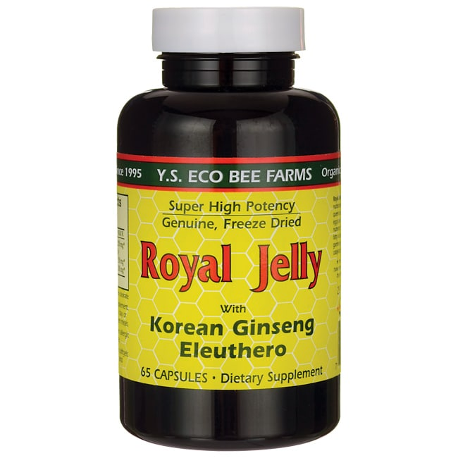 Y.S. Eco Bee FarmsRoyal Jelly with Korean Ginseng and Eleuthero