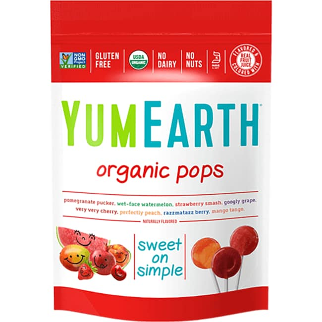 Yummy EarthOrganic Fruit Lollipops