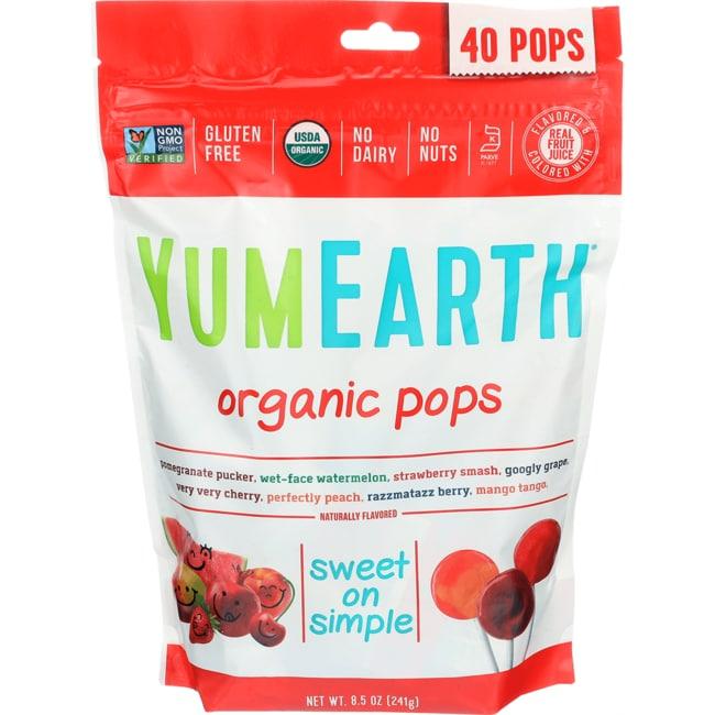 Yummy EarthOrganic Pops Assortment