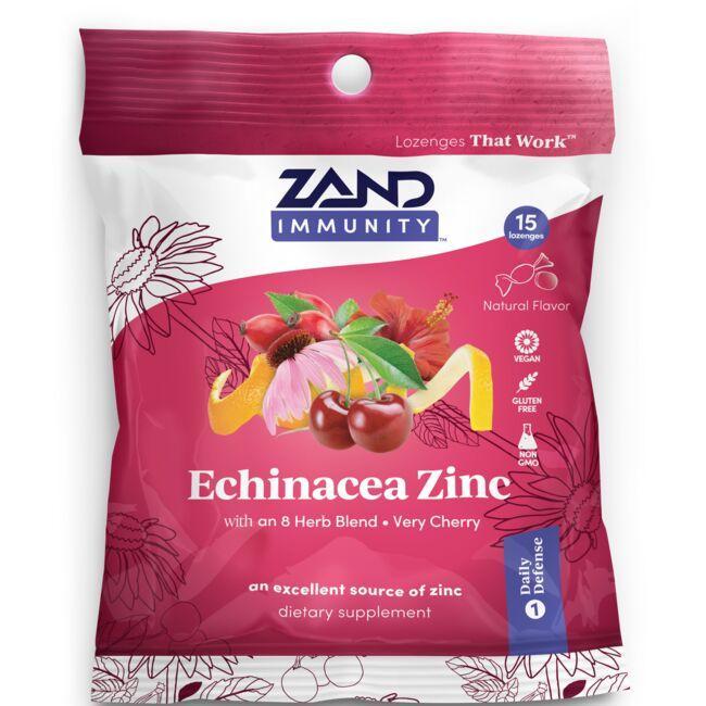 ZandHerbaLozenge Echinacea Zinc - Very Cherry