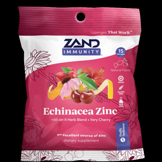 Zand HerbaLozenge Echinacea Zinc - Very Cherry