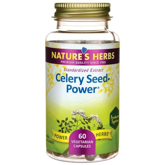 Nature's Herbs Celery Seed-Power