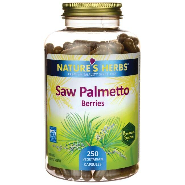 Nature's Herbs Saw Palmetto Berries