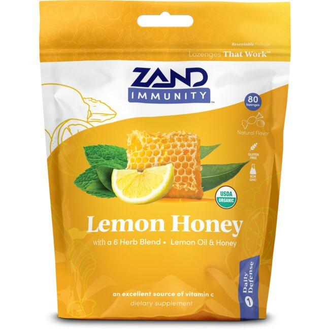 ZandHerbaLozenge Organic - Lemon Honey Soother