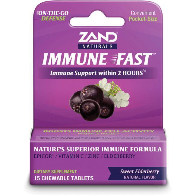 ZandImmune Fast - Sweet Elderberry