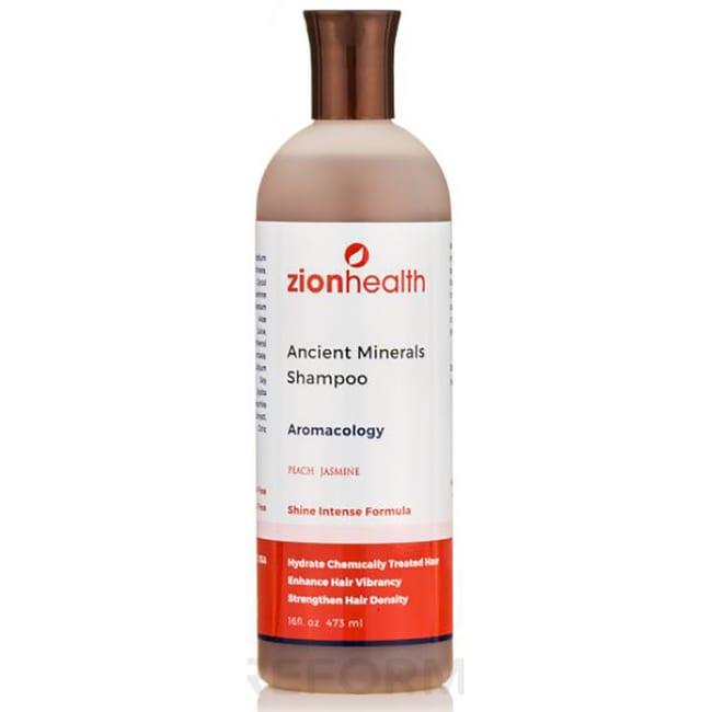 Zion HealthAdama Clay Minerals Shampoo - Peach Jasmine