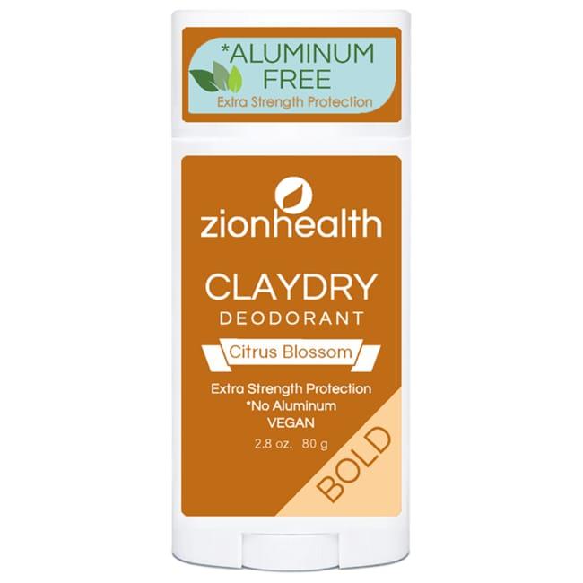 Zion HealthAdama Minerals ClayDry Deodorant - Citrus Blossom